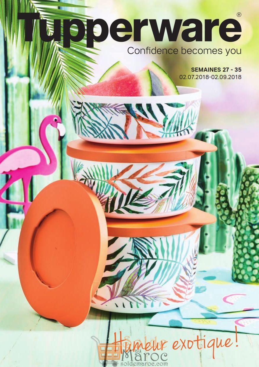 Catalogue Tupperware Maroc Summer Animation du 2 Juillet au 2 Août 2018