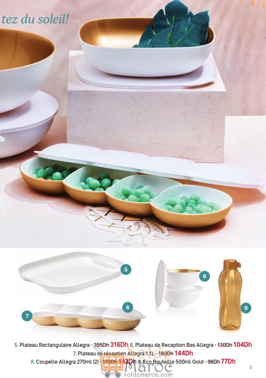 Catalogue Tupperware Maroc Summer Supplement du 9 Juillet au 12 Août 2018