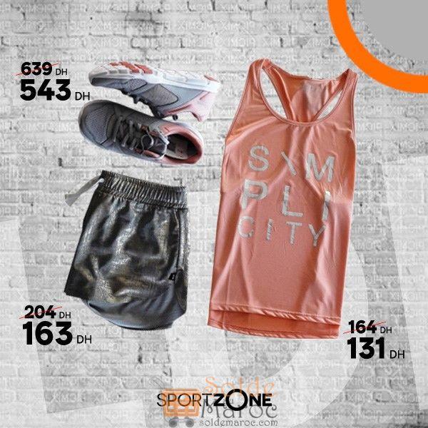 Promo Sport Zone Maroc Articles Fitness pour Femmes