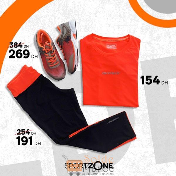 Soldes Sport Zone Maroc Article Fitness pour femme