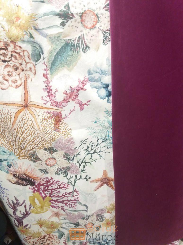 Prix imbattables chez Miro Home Tissu Uni & Imprimé