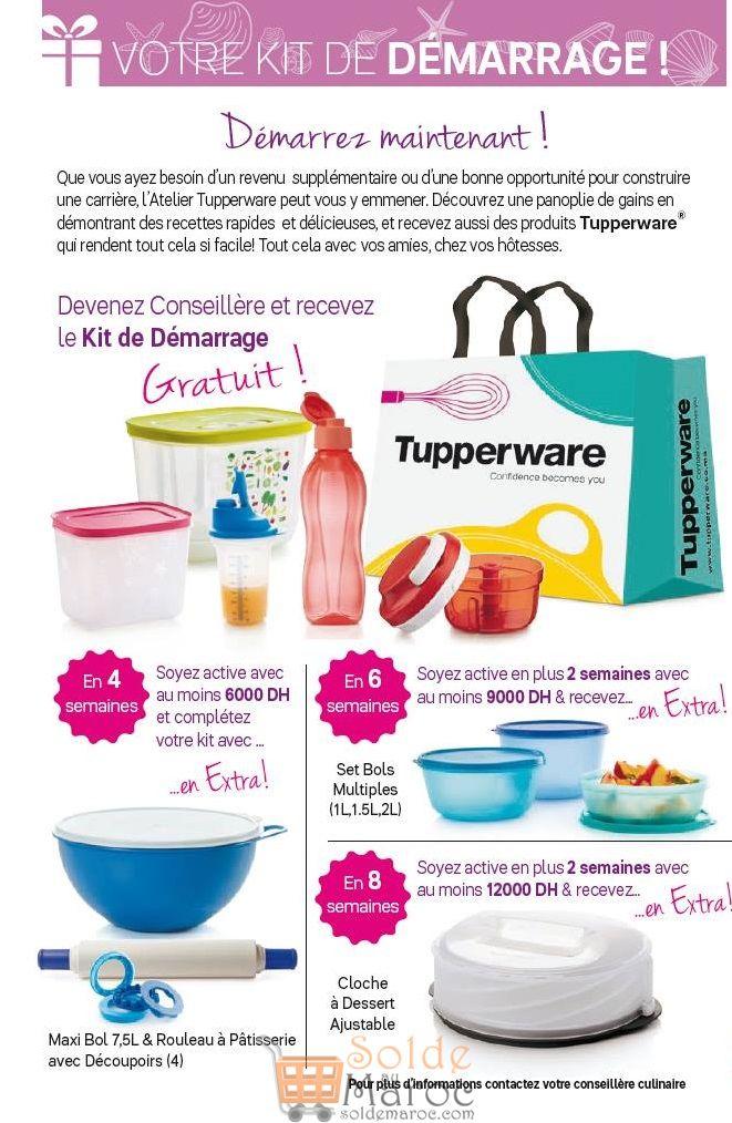 Catalogue Tupperware Maroc du 2 au 29 Juillet 2018
