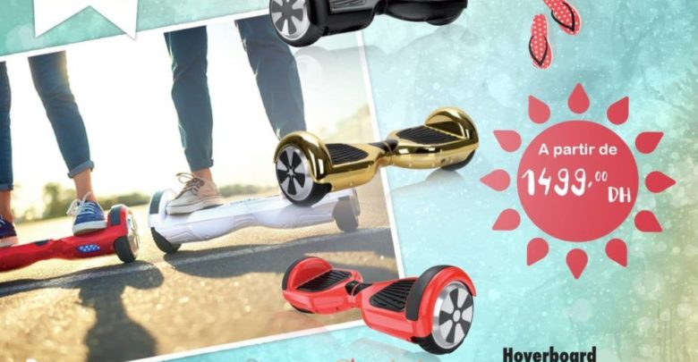 Photo of Offre Exceptionnel Aswak Assalam Hoverboard Divers Coloris 1499Dhs