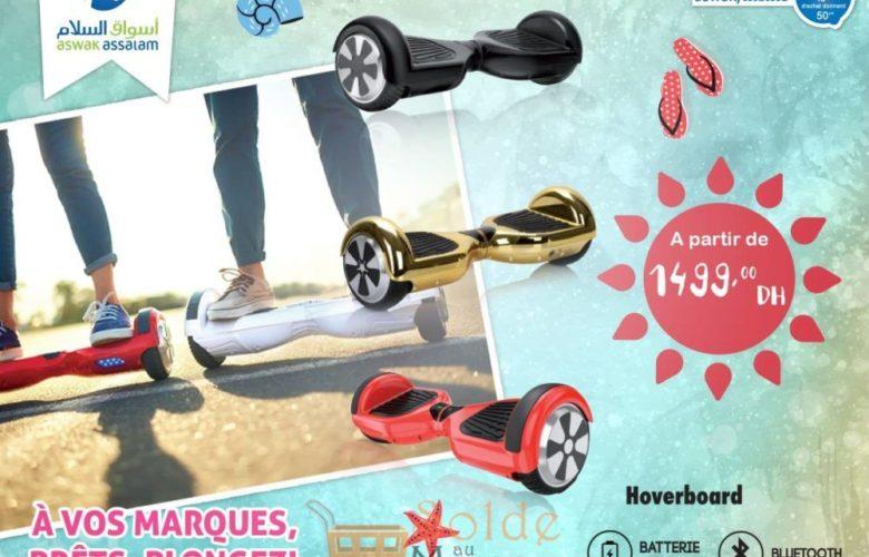 Offre Exceptionnel Aswak Assalam Hoverboard Divers Coloris 1499Dhs