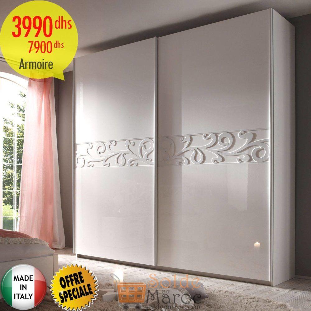 Soldes Azura Home ARMOIRE AMBROSIO 3990Dhs au lieu de 7900Dhs