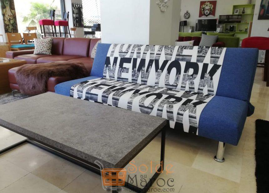 Promo Azura Home BANQUETTE CLIC CLAC NEW YORK 2100Dhs au lieu de 3100Dhs
