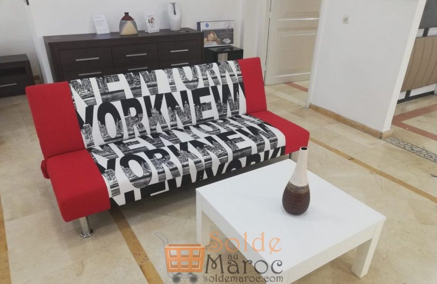 Promo Azura Home Banquette Clic Clac New York 2100dhs