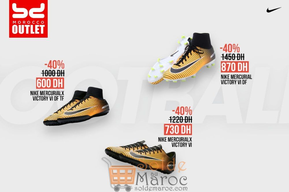 Promo BD Morocco Outlet jusqu'à 50% sur Godasse Nike
