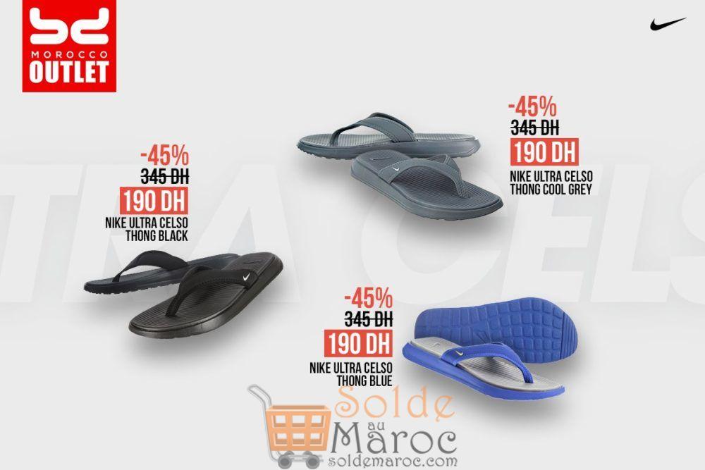 Promo BD Morocco Outlet Sandale de plage NIKE