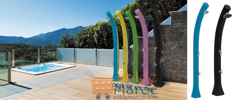 Nouveau chez Mr Bricolage Maroc Douche Solaire divers coloris et modèles