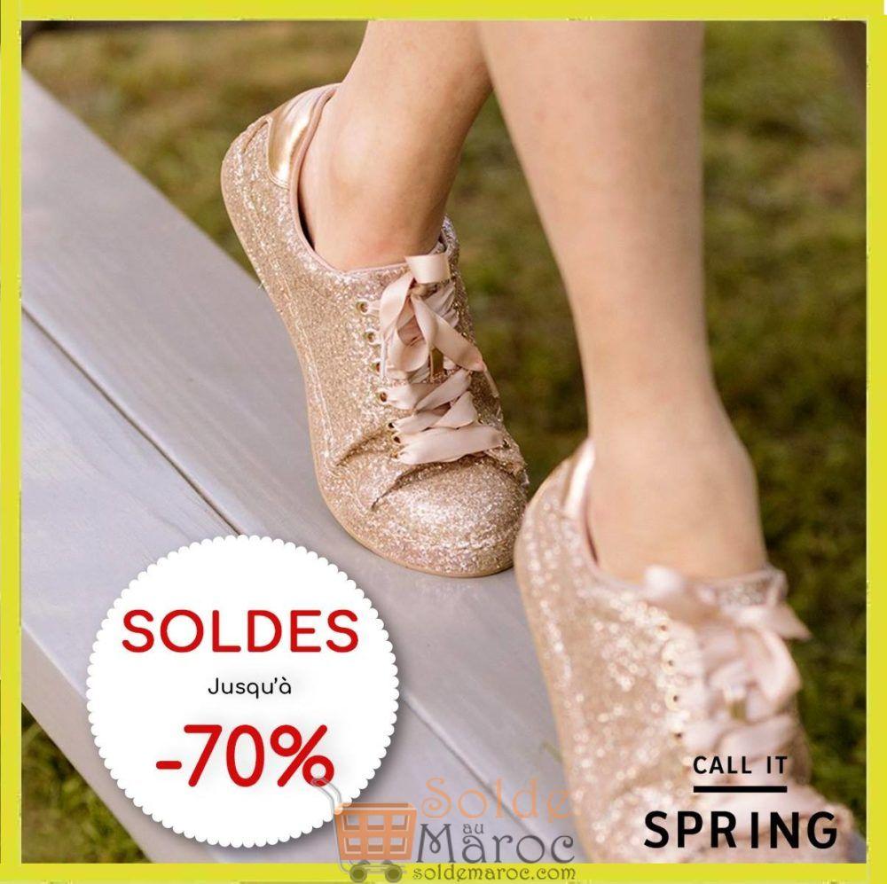 Soldes CALL IT Spring Maroc jusqu'à -70%