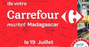 Ouverture Carrefour Market Avenue Madagascar Rabat 19 Juillet 2018