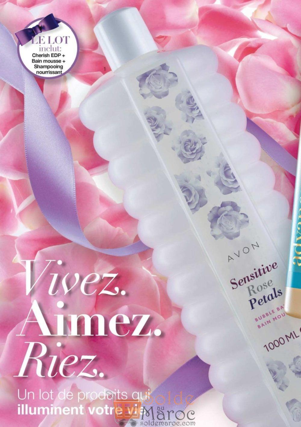 Catalogue Avon Maroc du 17 Juillet au 9 Août 2018