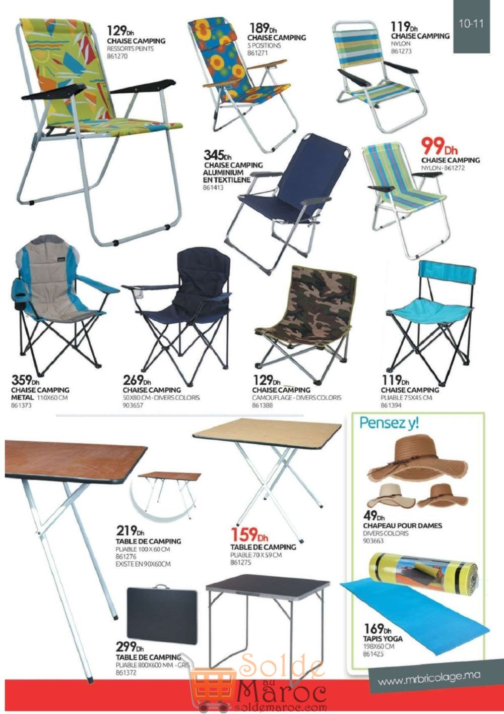 Catalogue Mr Bricolage Maroc du 27 Juillet au 31 Août 2018