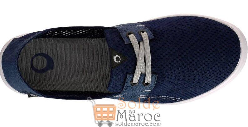Promo Decathlon Chaussure Homme AREETA Bleu fonce 119Dhs au lieu de 159Dhs
