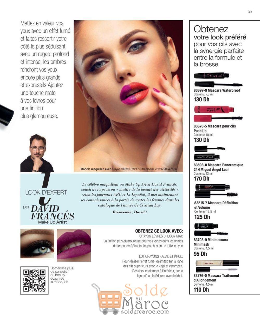 Catalogue Cristian Lay Maroc du 23 Juillet au 16 Août 2018
