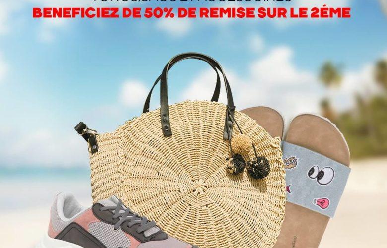 Promo Defacto Maroc Pour tout Accessoires acheté 50% de remise sur le 2ème
