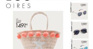 Promo Gémo Maroc Accessoires Sac Paille et Lunettes et Chapeaux