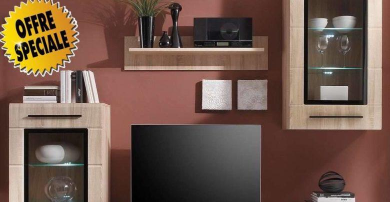 Promo Azura Home ENSEMBLE MEUBLE TV GLADYS 2890Dhs au lieu de 3990Dhs