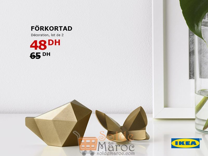 soldes ikea maroc lot de 2 d corations f rkorta 48 dhs. Black Bedroom Furniture Sets. Home Design Ideas