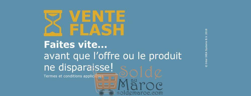 Vente Flash IKEA Maroc du 21 au 22 juillet 2018