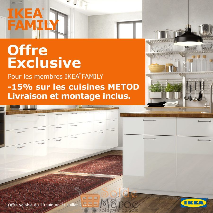 Soldes Ikea Family -15% Cuisines METOD