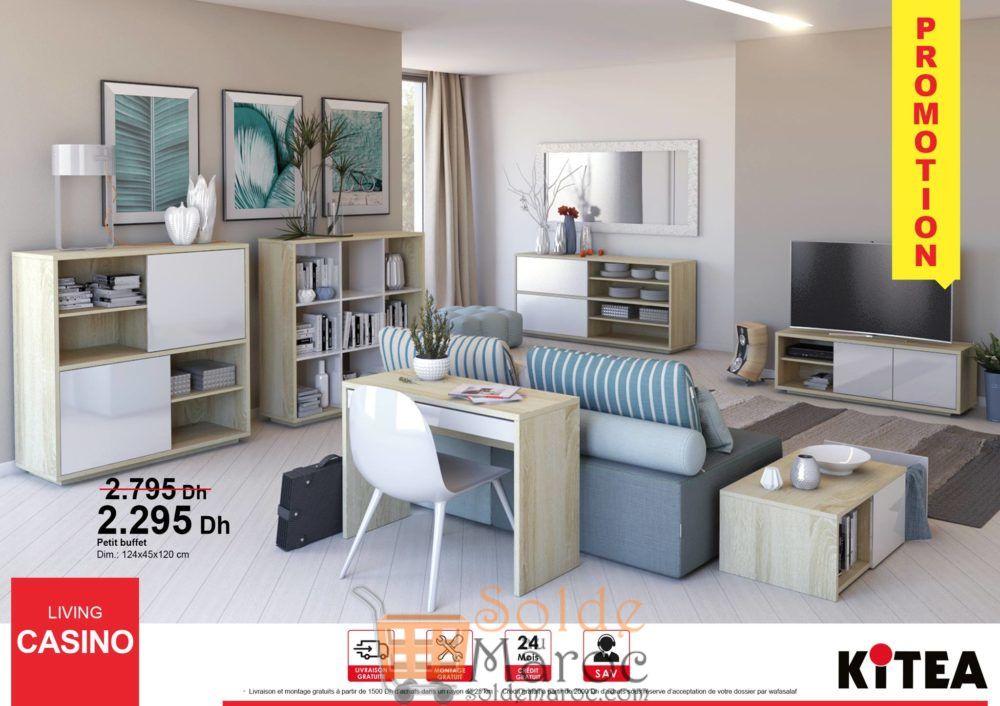 Promo Kitea Petit Buffet Living CASINO 2295Dhs au lieu de 2795Dhs