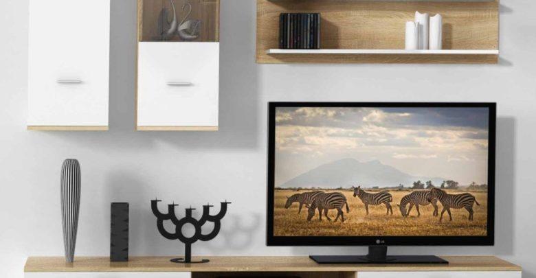 Promo Azura Home MEUBLE TV RIKKO 188 CM 2490Dhs au lieu de 2890Dhs