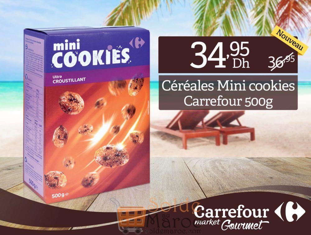Promo Carrefour Market Gourmet Mini cookies 34.95Dhs au lieu de 36.95Dhs
