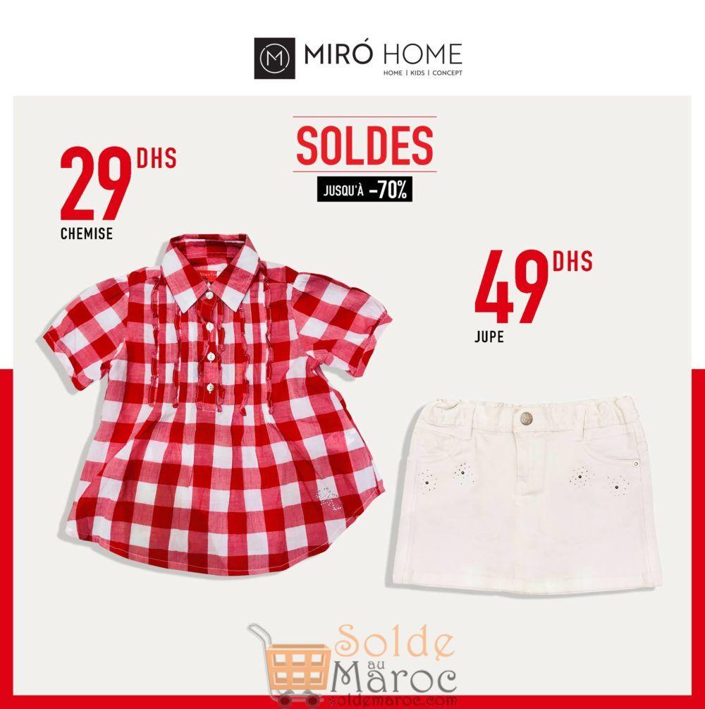 Soldes Miro Home Jupe & chemise pour filles