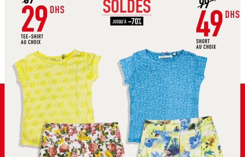 Soldes Miro Home Tee-shirt et Short pour filles au choix