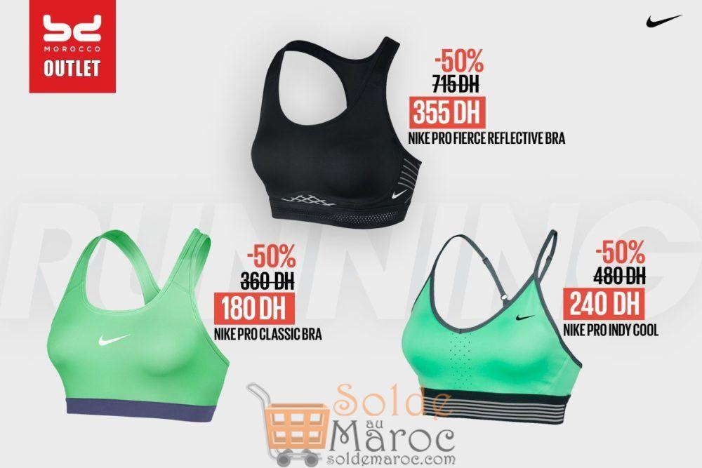 Soldes BD Morocco Outlet Brassières de sport Nike