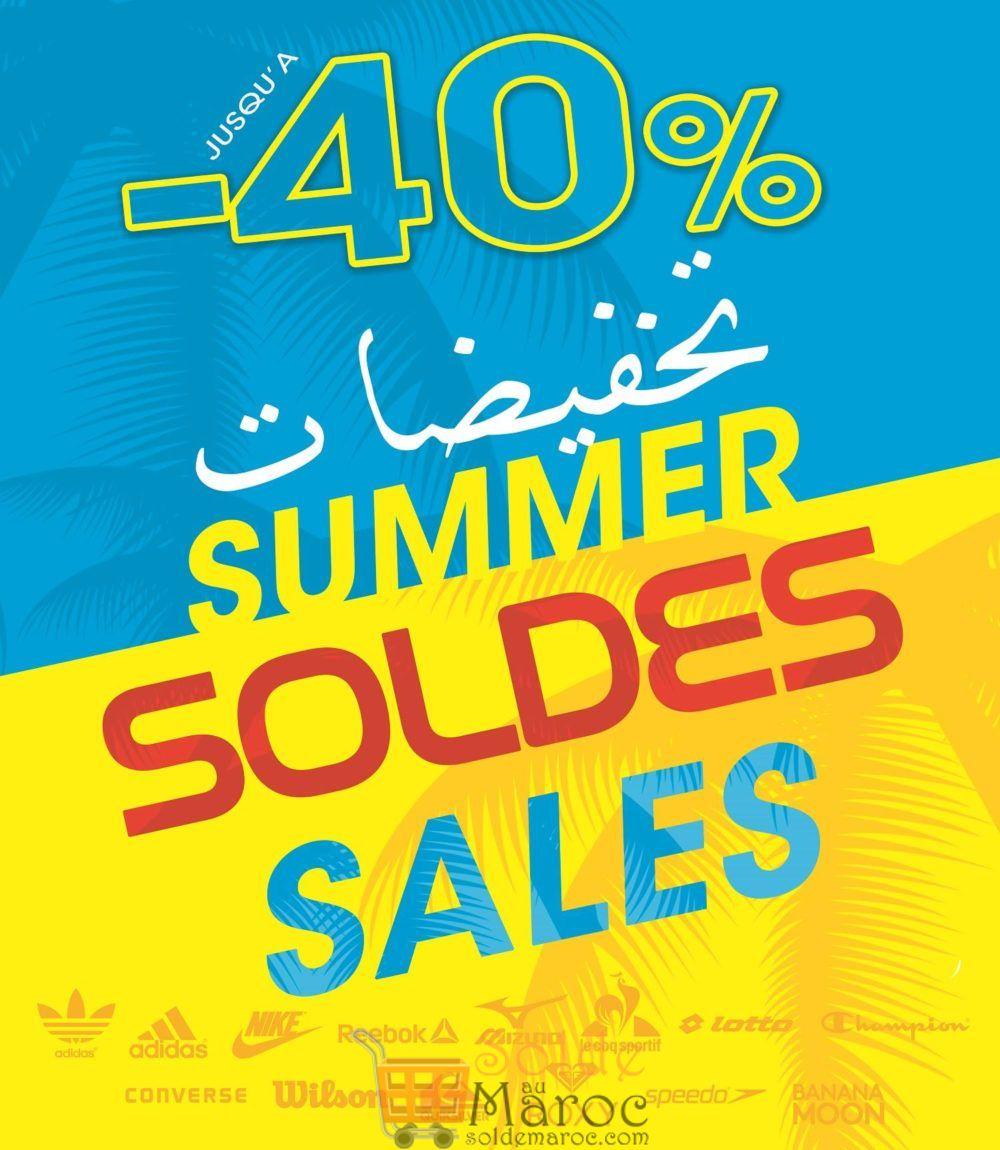 Soldes SUMMER Planet Sport Jusqu'à -40%