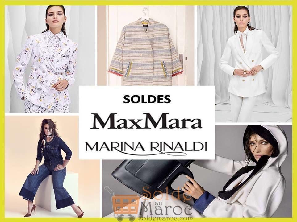 Soldes d'été MaxMara Maroc