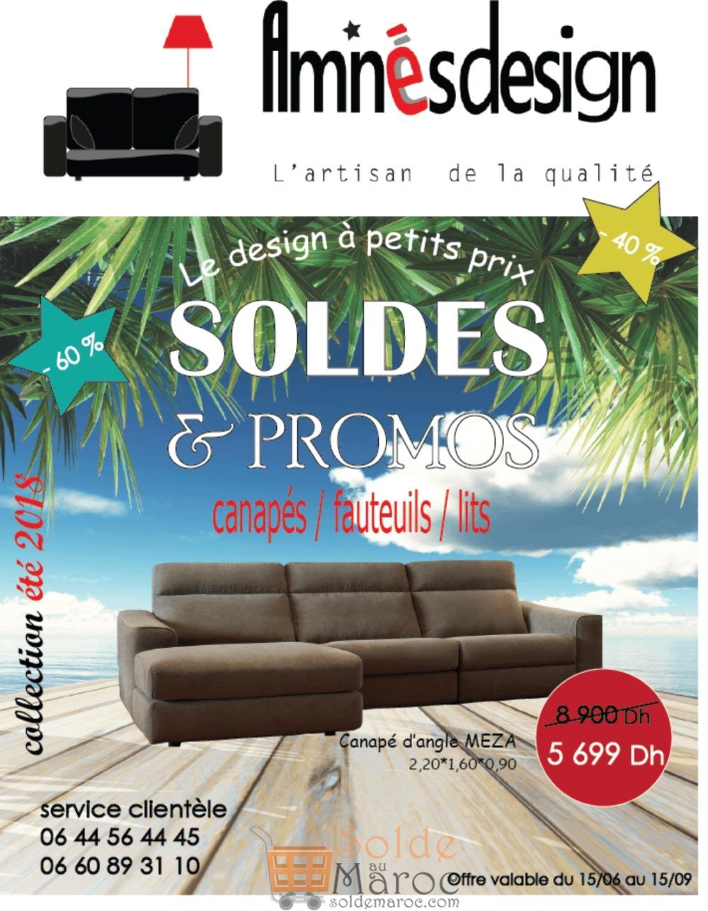 Catalogue Aminés Design du 15 Juin au 15 Septembre 2018
