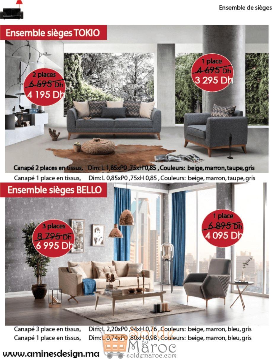 Catalogue Aminés Design du 15 Juin au 15 Septembre 2018