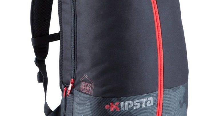 Promo Decathlon Sac à dos de sports collectifs Intensif 35 litres noir rouge 139Dhs au lieu de 199Dhs