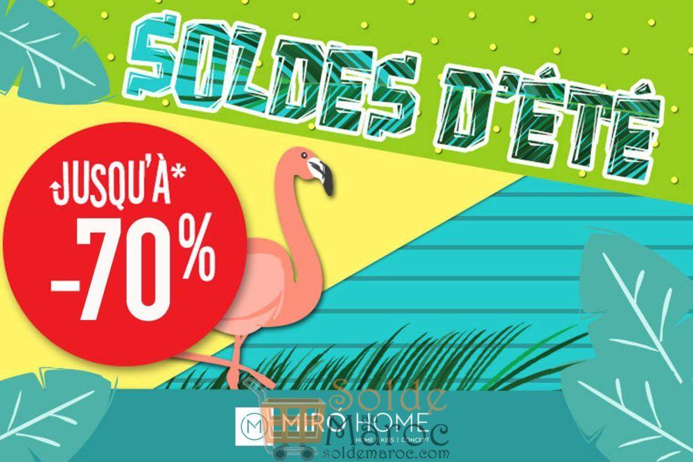 Soldes d'été chez Miro Home Jusqu'à -70%