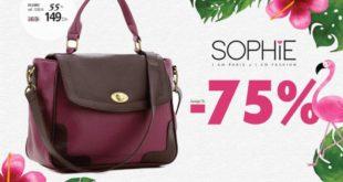 Promo Sophie Paris Maroc Sac QUINCE 149Dhs au lieu de 349Dhs