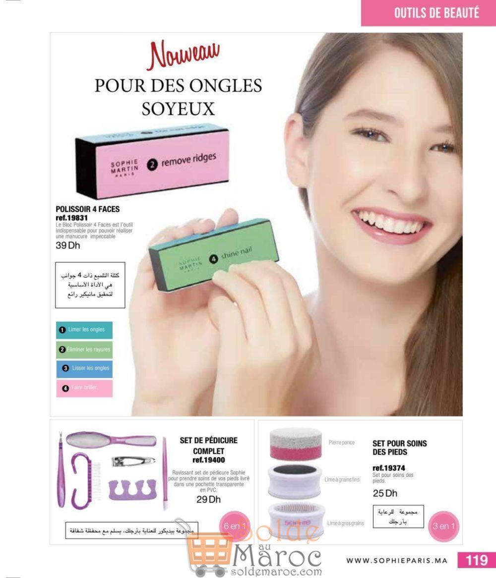 Catalogue Sophie Paris Maroc Août 2018