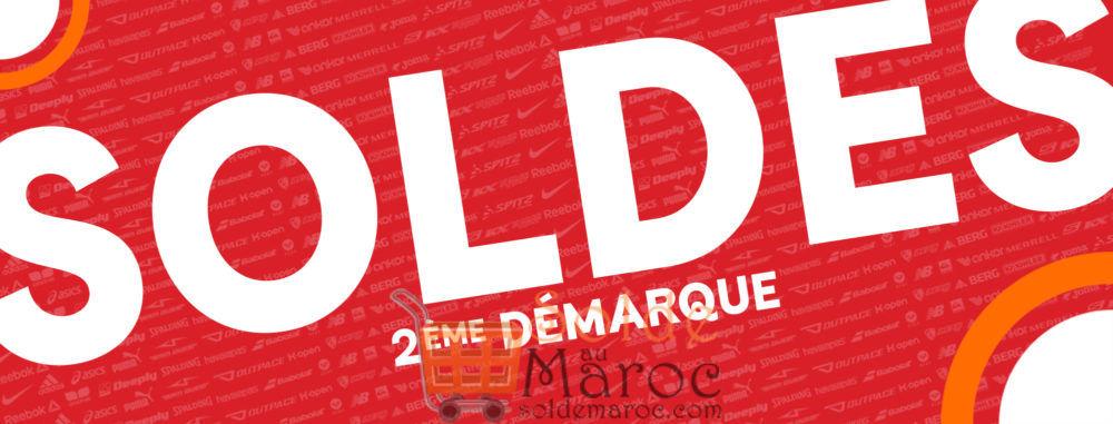 Soldes Sport Zone Maroc 2ème DÉMARQUE