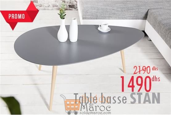 Promo Azura Home Table basse scandinave STAN 1490Dhs au lieu de 2190Dhs
