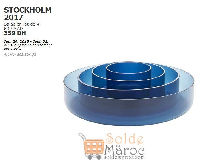soldes ikea maroc lot de 4 saladier stockholm 359dhs au lieu de 699dhs les soldes et. Black Bedroom Furniture Sets. Home Design Ideas