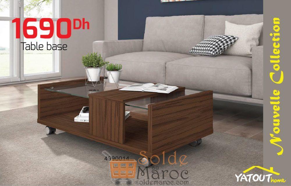 Nouvelle Collection Table Basse chez Yatout Home