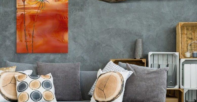 Photo of Promo Massinart Tableau décoratif Sahara painting imprimé en HD 181Dhs