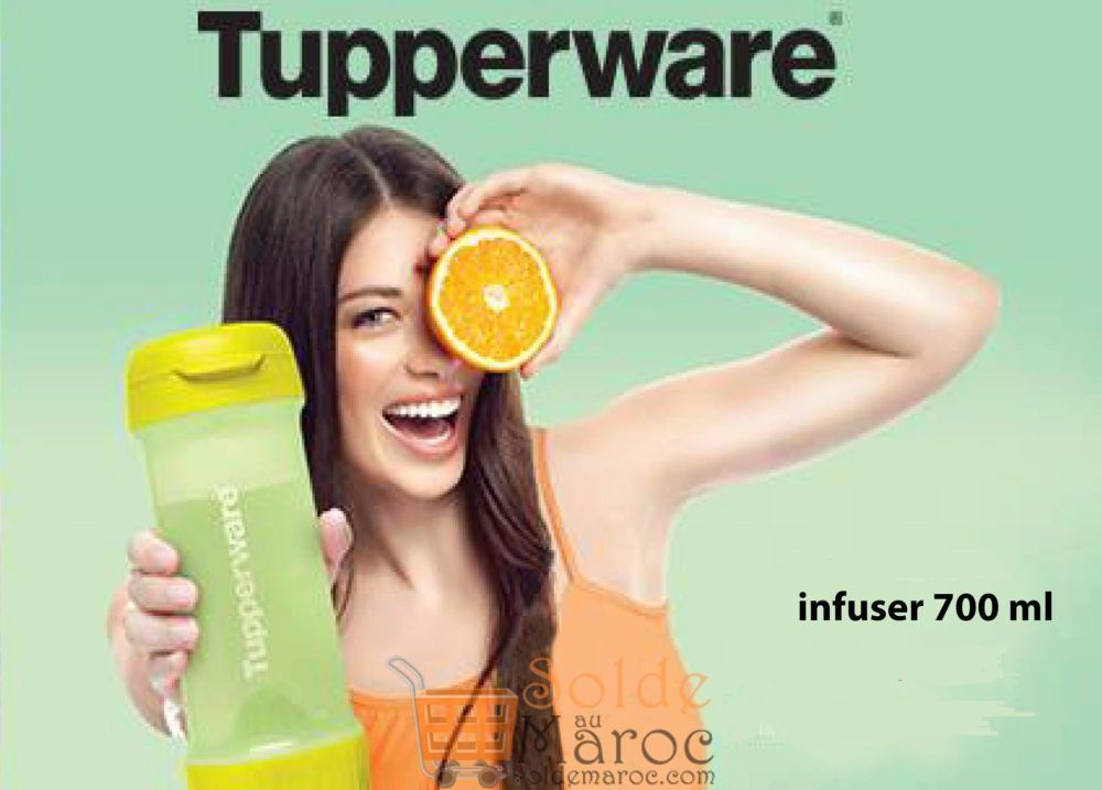 Promo Tupperware Maroc Infuser 700ML 179Dhs au lieu de 224Dhs