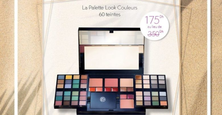 Deal de l'été Yves Rocher Maroc 60 teintes de la Palette Look Couleurs 175Dhs au lieu de 350Dhs