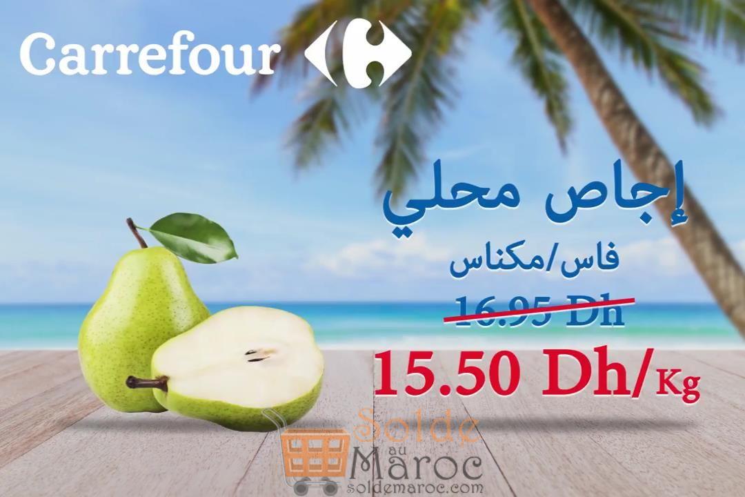Promo Carrefour Fruits et Légumes d'été du 9 au 14 Août 2018