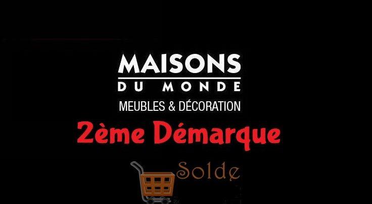 Photo of Soldes La Maison du monde 2ème Démarque