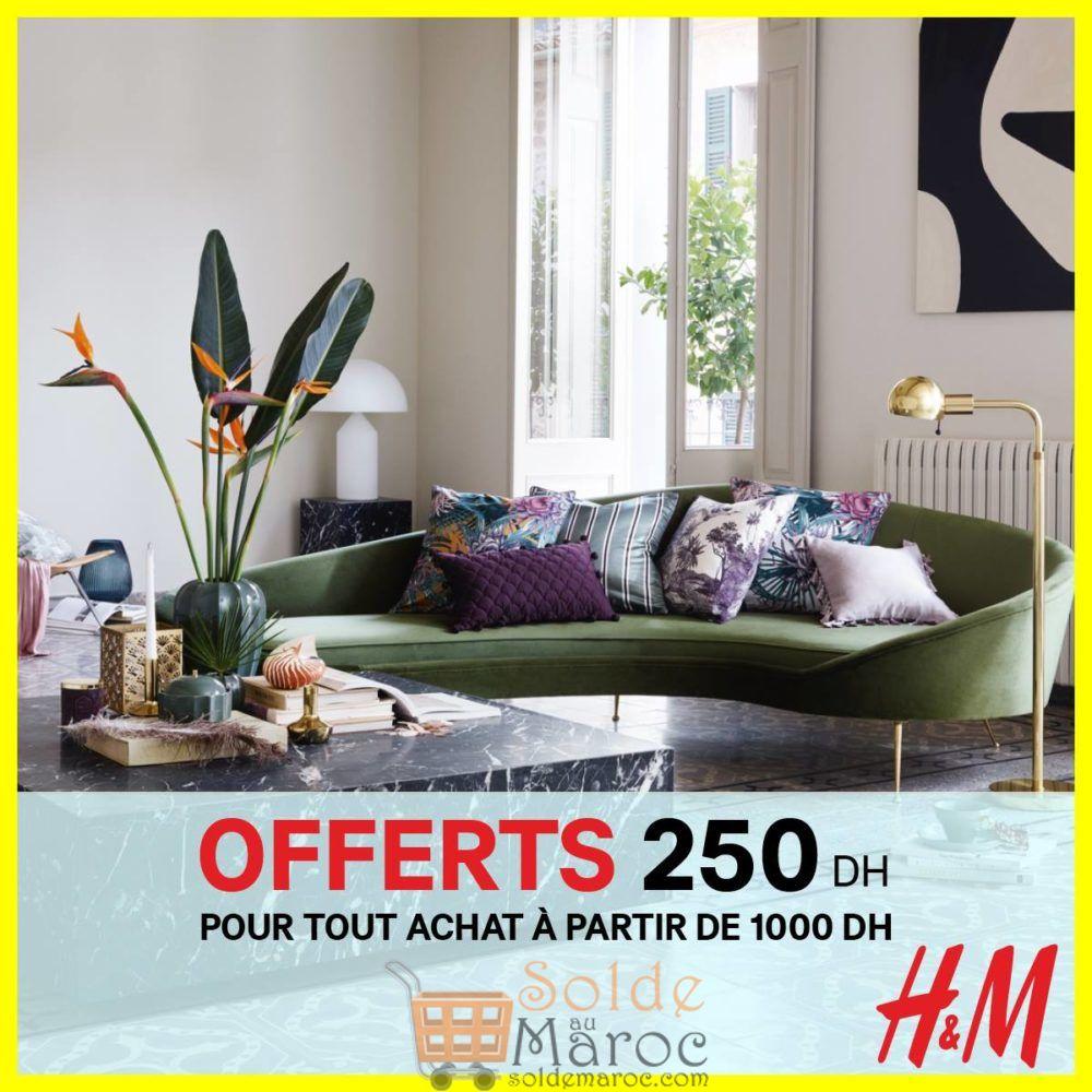 Promo H&M Maroc 250Dhs Offerts pour tout achat à partir de 1000Dhs